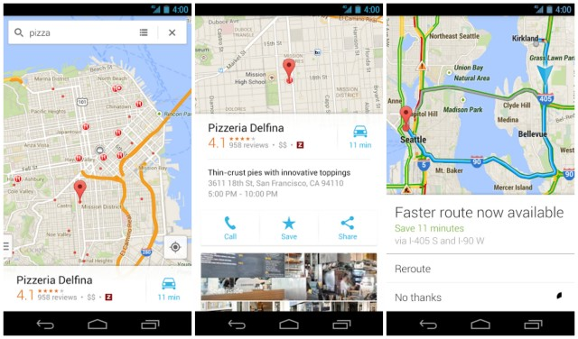 New Google Maps update Android