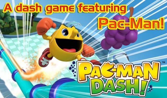 Pac-Man Dash banner