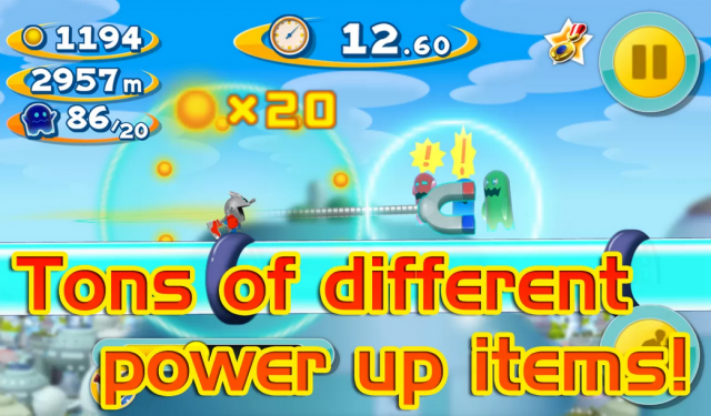 Pac-Man Dash powerups