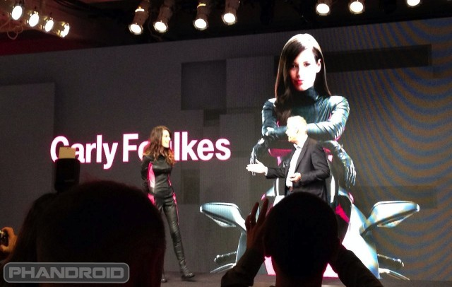 T-Mobile Carly Foulkes is back