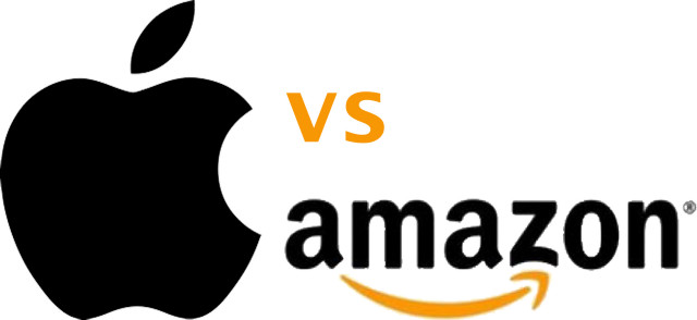 Image result for amazon vs apple