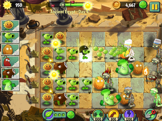 play free online game plants vs zombies 2