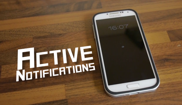 ActiveNotifications Moto X Active Display clone