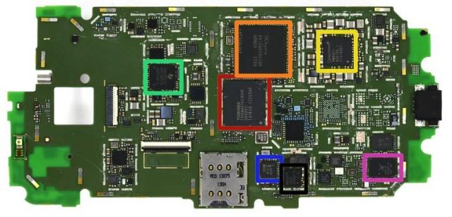 Moto X motherboard