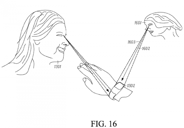 Motorola smartwatch patent gaze detection Phandrizzle
