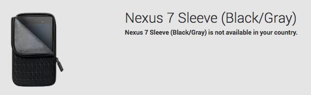 Nexus7 Sleeve