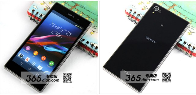 Sony Xperia Z1 dummy unit leak