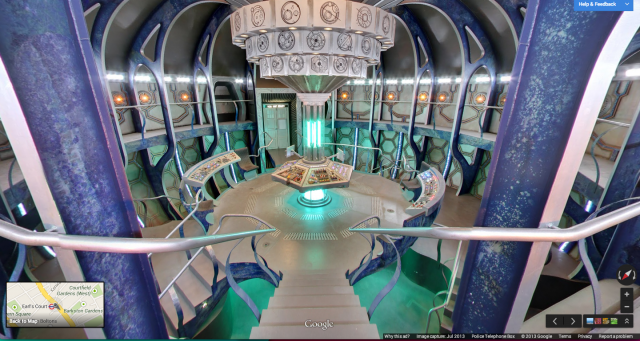 Street View Inside Tardis