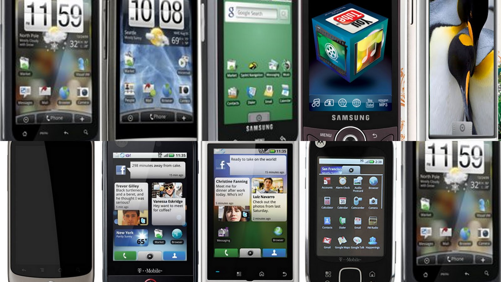 Phone Android Phones In Market 10 worst android phones of all time phandroid phones