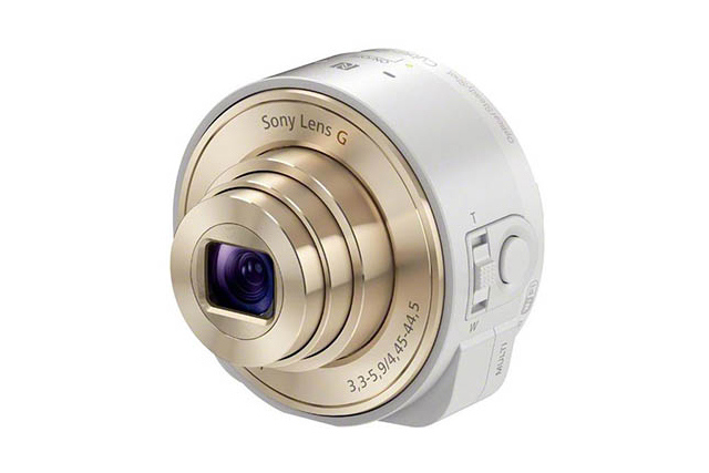 sony lens champagne