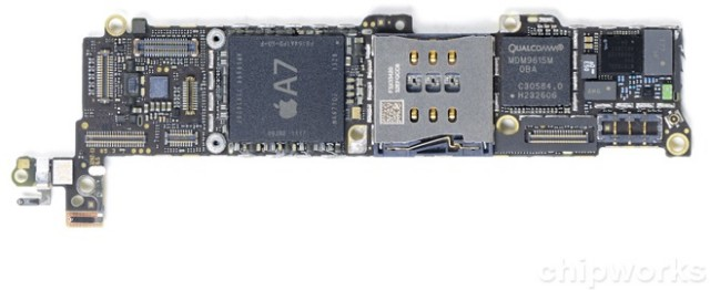 Apple iPhone 5S board