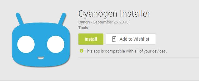 Cyanogen Installer