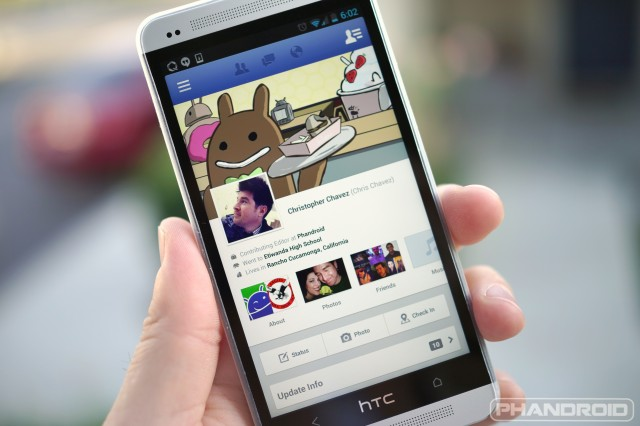 Facebook Android app 1