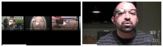 Google Glass YouTube videos XE9