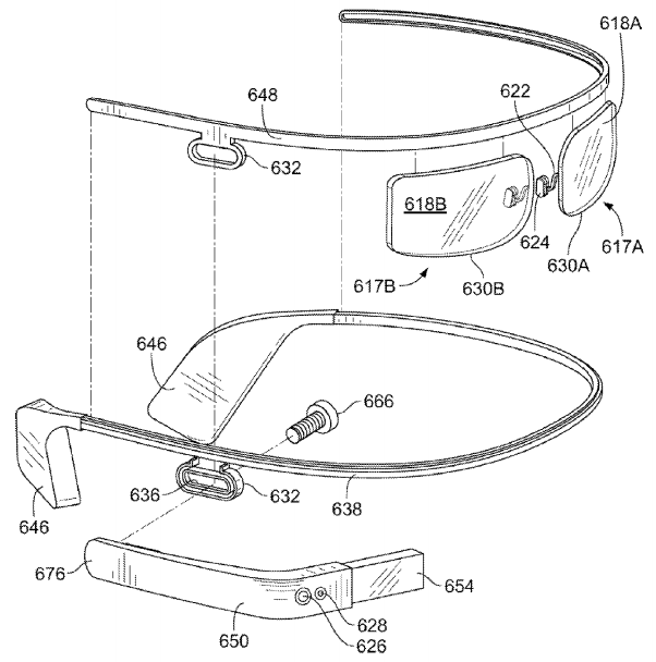Google Glass patent figure 12