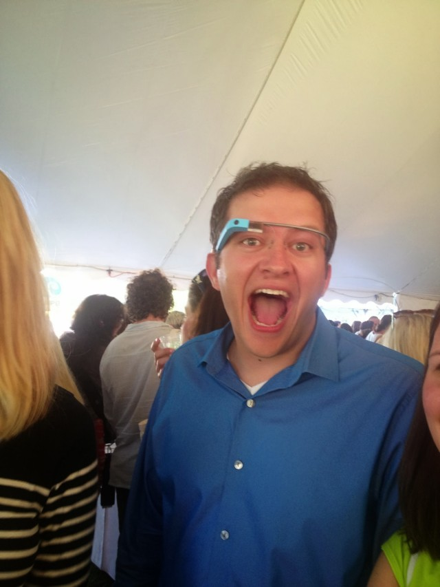 Derek Ross Google Glass