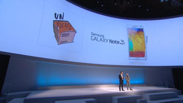 Samsung Galaxy Note 3 Unpacked 2013
