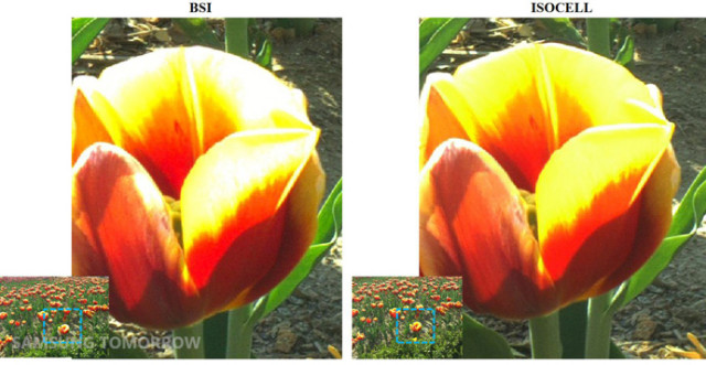 Samsung ISOCELL camera comparison