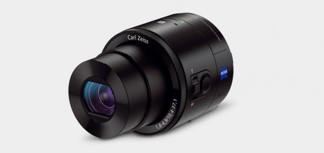 Sony QX100 lens camera