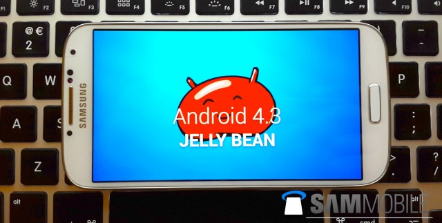 Android 4.3 leaked firmware for Samsung Galaxy S4