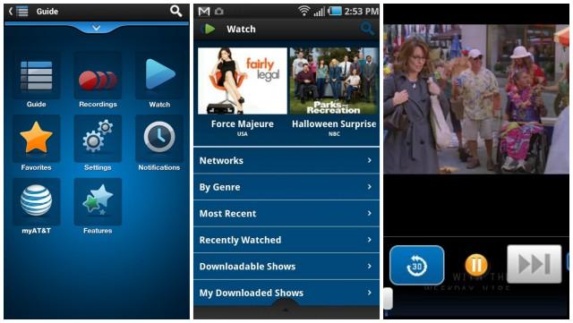 ATT U-verse android app