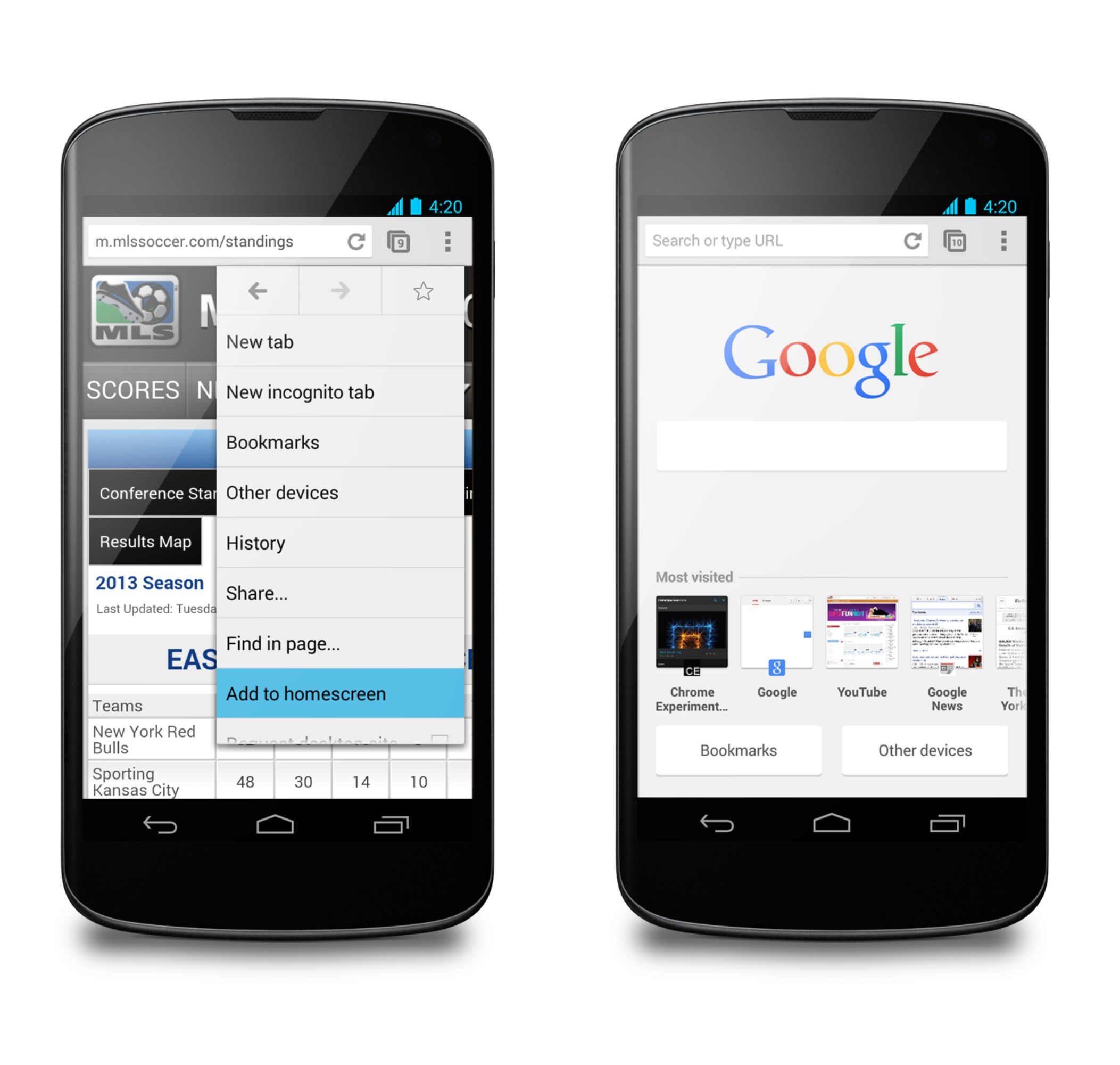 Google Voice Commands >> Chrome for Android updated with improved autofill