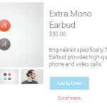 Glass-Mono-Earbud
