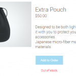 Glass-Pouch