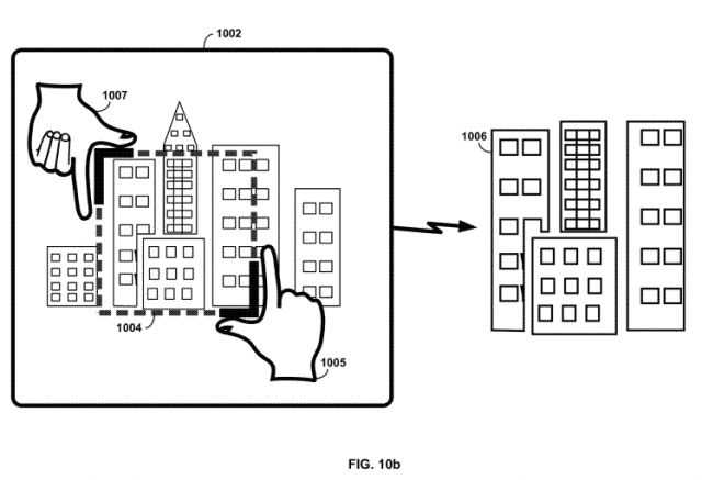 Google Glass patent cropping Fig 10b