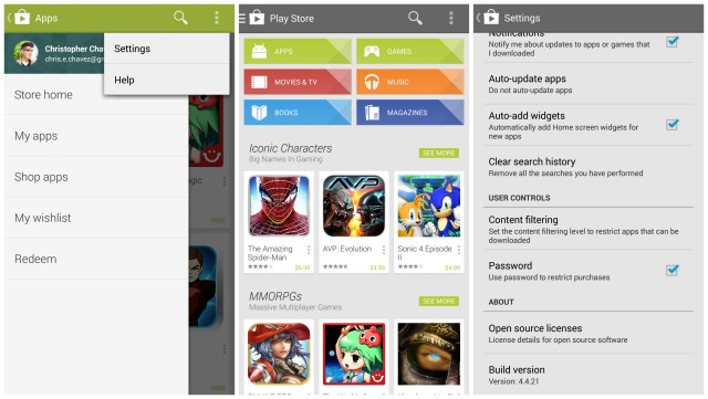 Google Play Store 4.4.21 download