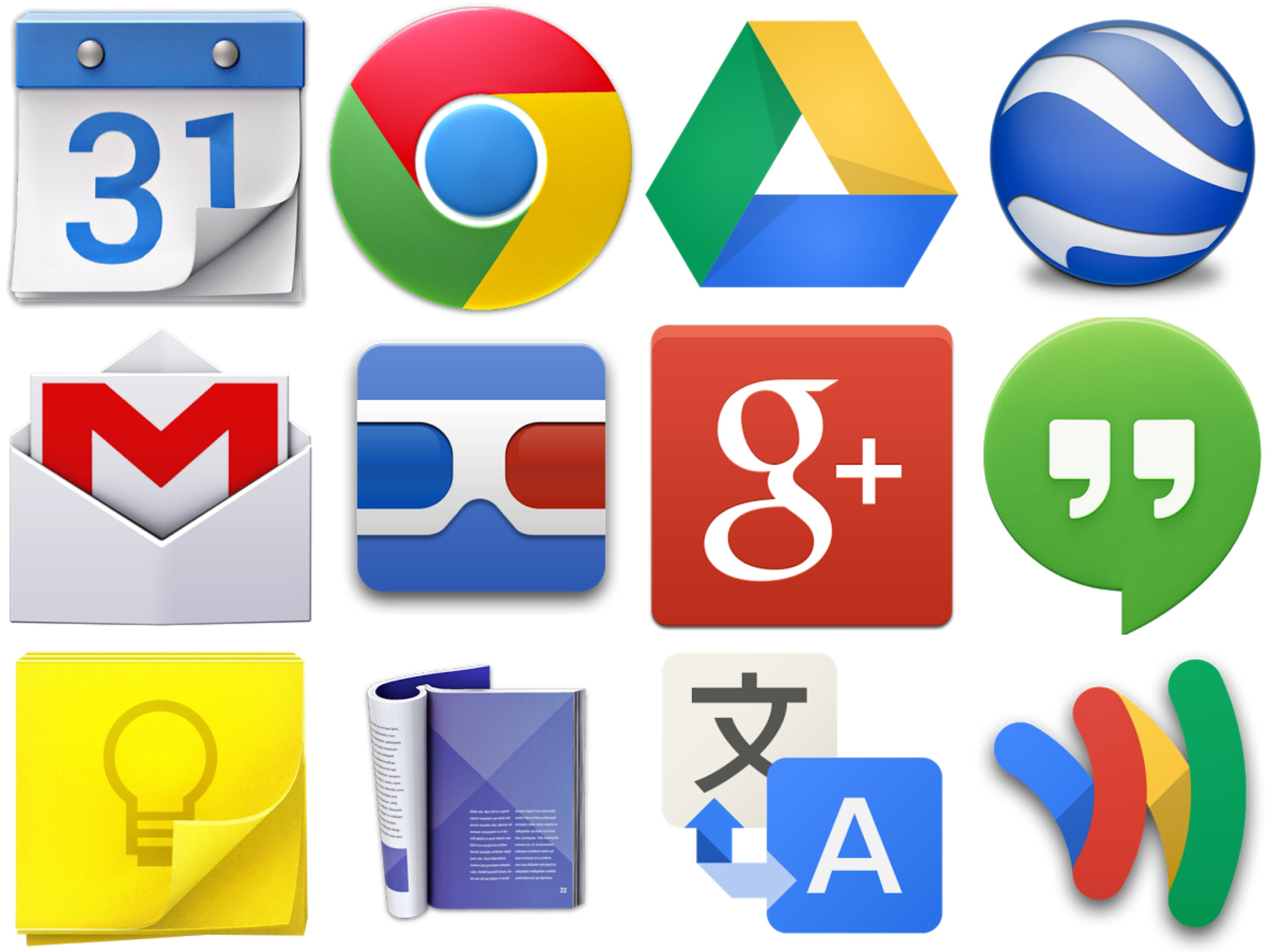 Something 39 s happening 12 google apps were updated on oct for Goodl