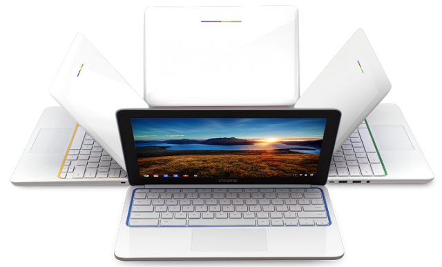 HP Chromebook 11 angles