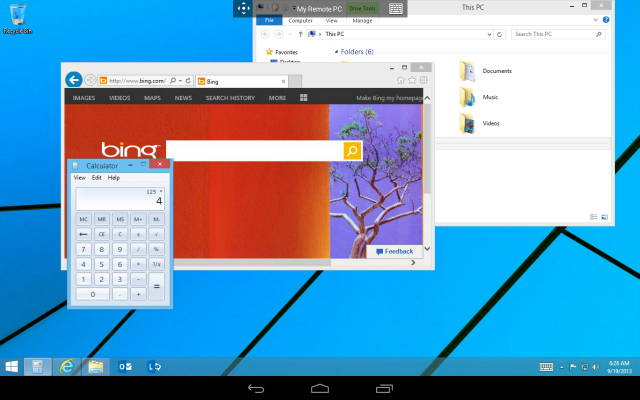 Microsoft Remote Desktop app Android 2