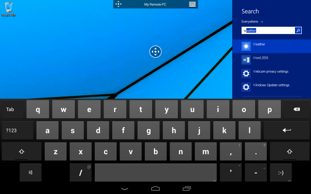 Microsoft Remote Desktop app Android 3