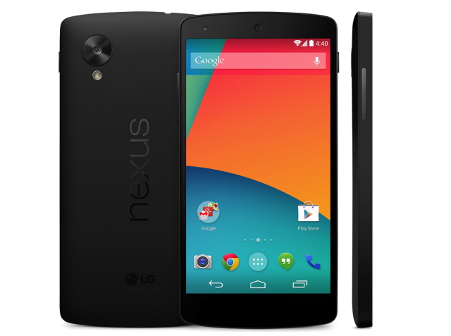 Nexus 5 Google Play Store live