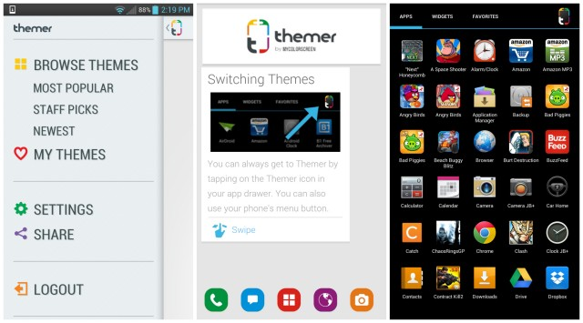 Themer by MyColorScreen screenshots