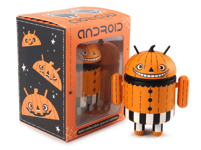 Trick or Treat Android Happy Halloween