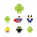android logos