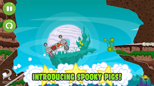 bad piggies halloween update