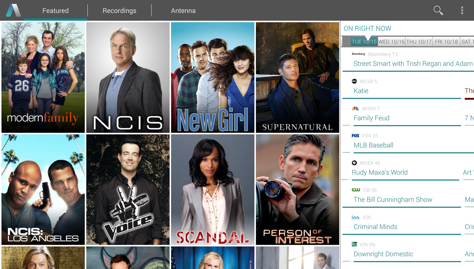 Google Play, lets you stream live television on your phone or tablet
