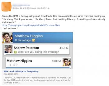 facebook tip bbm astruturfing