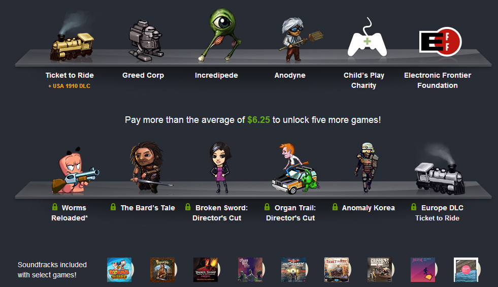Humble Bundle Android 7 brings Worms, Bard's Tale & more