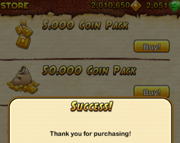 templerun2 purchase
