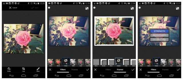 Nexus 5 Google Plus Photos editor