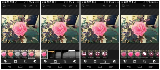 Nexus 5 new Gallery editor