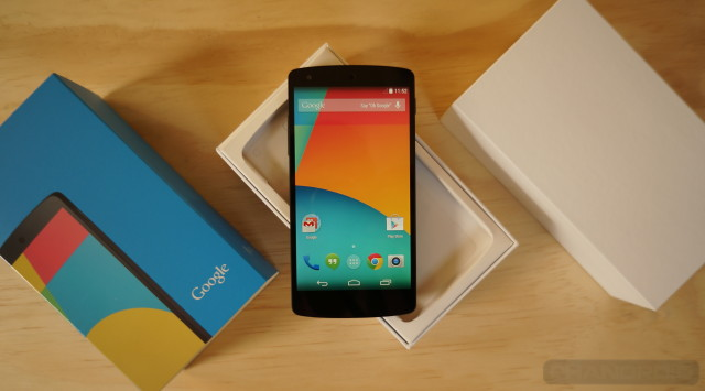 Nexus 5 unboxing featured