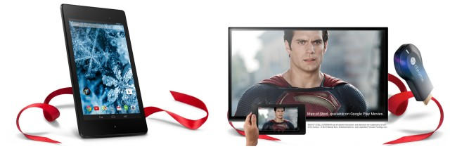 Nexus 7 Chromecast Holiday promo