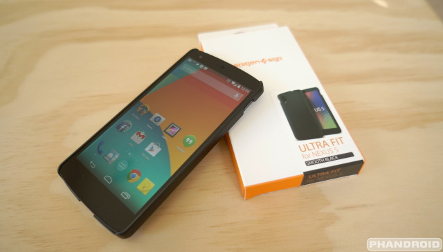 SPIGEN Nexus 5 case featured