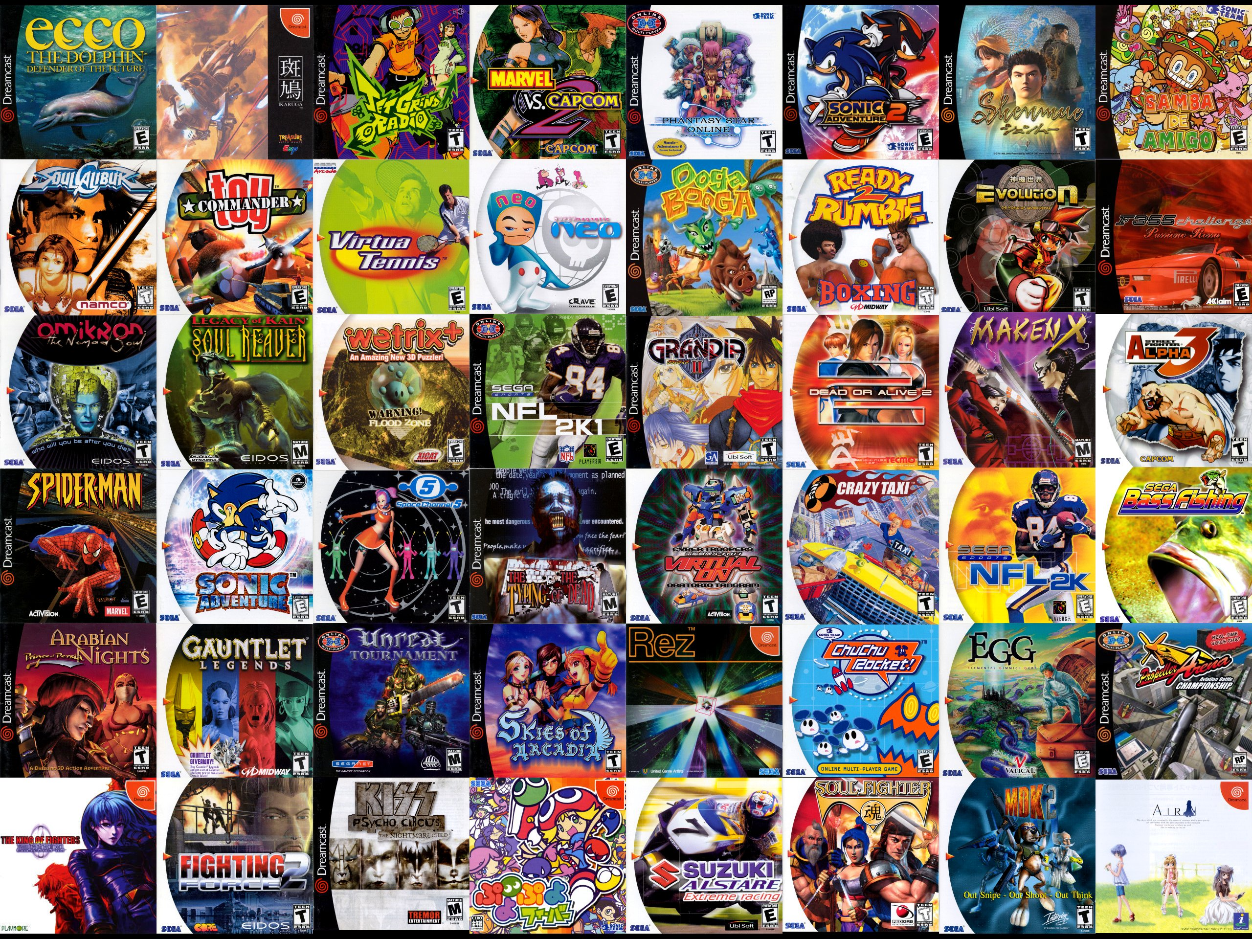 http://phandroid.s3.amazonaws.com/wp-content/uploads/2013/12/Dreamcast-games-cover-art.jpg