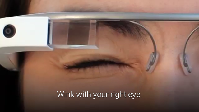 Google Glass XE12 wink update